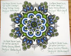 Andy's Mandala | Stephanie Smith | Flickr
