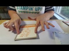 Add a pop of Stampin' Up color for quick and easy cards