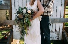 Jessica and Blake's Hand Sewn, Homespun, Free Spirited Wedding By Fox and Owl Studio
