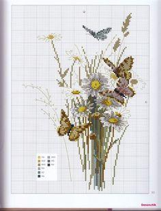 Gallery.ru / Фото #57 - Helene Le Berre - Herbier au point de croix (2008) - tymannost