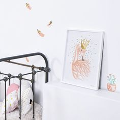 Lámina Flamingo Rosa