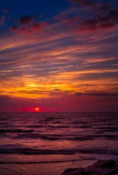 Galveston Sunrise by dfikar1 @ Flickr