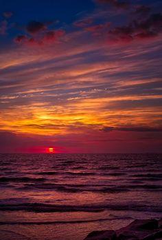 Galveston, Texas Sunrise