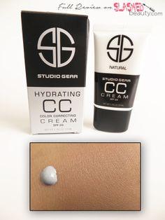 REVIEW: Studio Gear Hydrating CC Cream   Slashed Beauty