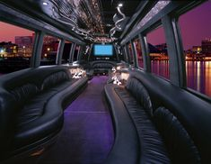 Limo party bus for safe/fun transportation for the whole group.