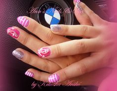 BMW  gel nails