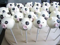 Probably the cutest cake pops ever!