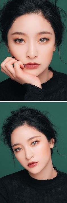 I like her make up and I like her lipstick colour.