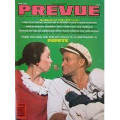 PREVUE, The Magazine of Tomorrow's Entertainment, Vol. 2, No. 3, November/December 1980 (Paperback)  http://www.amazon.com/dp/B001A1BVCO/?tag=oretoretanku-20  B001A1BVCO