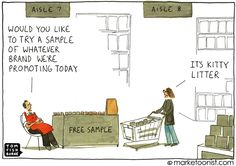 Many marketing tactics run on autopilot - they often executed the same. Make all your tactics remarkable, even sampling.