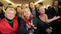 Wahlkampf-Spannung mit Doris Schröder-Köpf