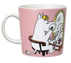 Moomin Mug Arabia Snorkmaiden Pink Arabia