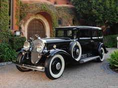 1930 Cadillac V-16 452 Armored Imperial Sedan by Fleetwood