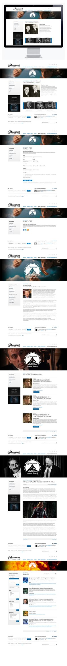 Paramount by Moosesyrup, via Behance