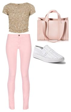"""set1"" by mujo-ziba ❤ liked on Polyvore featuring Alice + Olivia, Maison Kitsuné, Steve Madden and Corto Moltedo"