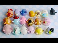 Clay Tsum Tsum Collection - YouTube