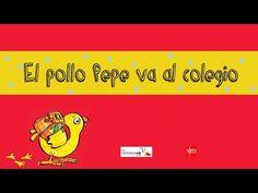 Hoy es el primer día de colegio del pollo Pepe, pero se ha quedado dormido y esta mañana tiene mucha prisa. ¿Llegará a tiempo? (De 0 a 5 años) First Day Of School, Back To School, Dual Language, Spanish Class, How To Speak Spanish, Kindergarten, Preschool, Teacher, Lancaster