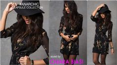 Anarchic capsule collection with Star Blogger Chaira Biasi | Inside Patrizia Pepe  http://www.patriziapepe.com/anarchic-chiara-biasi