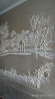 Clay Wall Art, Mural Wall Art, Clay Art, Wall Art Decor, Wall Sculptures, Sculpture Art, Plaster Art, Fairy Crafts, Textured Walls