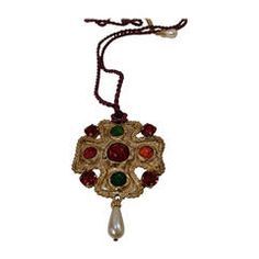 1990s Dolce & Gabbana Necklace with Maltese cross