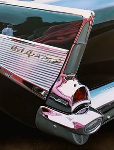 Cheryl Kelley's Classic Muscle Cars Paintings Bel Air with Pink oil on aluminum panel, 23 x 30 Luxury Sports Cars, Sport Cars, Ferrari, Lamborghini, Muscle Cars Vintage, Vintage Cars, Auto Retro, Retro Cars, Fancy Cars