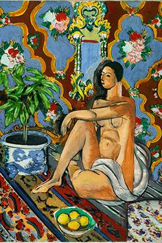 Matisse - I may not know art but I know talent n hard work.