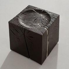 My personal favourite angle of the Yakisugi I. Sofa Design, Design Art, Furniture Design, Interior Design, Jewlery, Decorative Boxes, Minimalist, Woodworking, Sculpture
