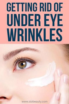 There are a number of under eye wrinkle treatments and remedies that can help restore a tight, youthful look to your delicate skin in that area. Discover the different options you have and learn how you can implement these remedies into your routine. Under Eye Wrinkle Treatment, Eye Treatment, Under Eye Wrinkles, Face Wrinkles, Prevent Wrinkles, Wrinkle Remedies, Skin Bumps, Tighter Skin, Beauty