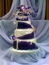 """Результат пошуку зображень за запитом """"весільний торт фіолетовий"""""""