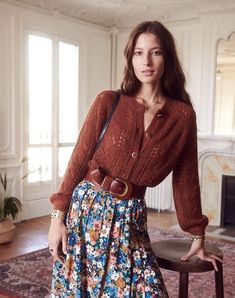 This French brand has all the looks of autumn - Mode Inspiration Boho Fashion, Vintage Fashion, Fashion Outfits, Womens Fashion, Fashion Trends, Style Fashion, Feminine Fashion, Ethical Fashion, Fashion 2017