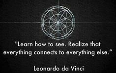 Leonardo Da Vinci said it all ages ago !!!