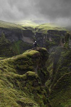 near the Laki Volcano, Iceland #travel