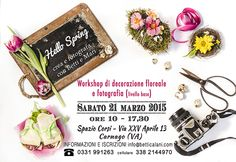 Hello Spring Workshop Hello Spring, Oreo, Workshop, Personalized Items, School, Flowers, Photos, Pictures, Atelier
