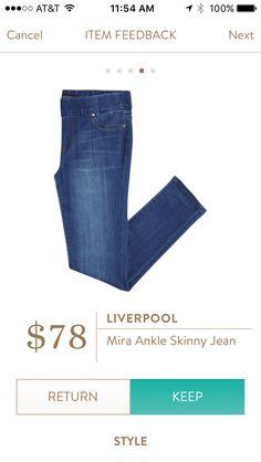 Liverpool Mira Ankle Skinny Jean