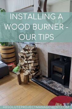 Are you considering installing a wood burner in your home? We've just had this wonderful addition fitted into our lounge, and love how it looks, feels, and makes such a change to our home. We've put together some tips on style, safety Wood Burner Stove, Stove Accessories, Slate Hearth, Meet Friends, Wooden Flooring, Project Management, Radiators, Hygge, Fireplaces
