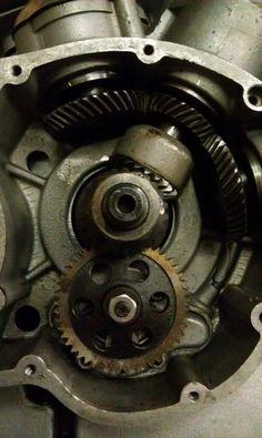 Ducati bevel gear