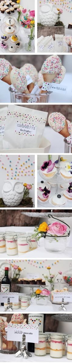 cute deco for a sophisticated sweet 16 bookmyevent@rareoccasionsinc.com to get a elegant and chic party like this