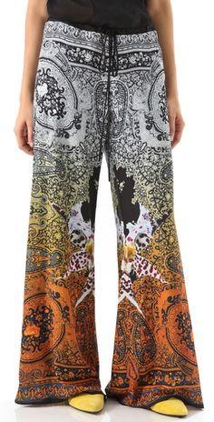 Clover Canyon Wide Leg Pants | SHOPBOP