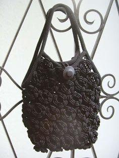 La Magia de tejido: bolsa Flor
