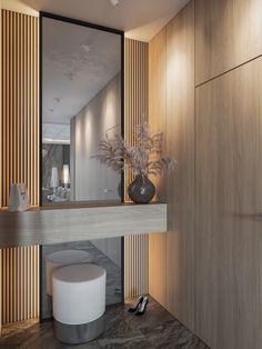 Design Hall, Flur Design, Loft Design, Interior Design Minimalist, Contemporary Interior Design, Eclectic Design, Interior Modern, Home Entrance Decor, Hallway Decorations