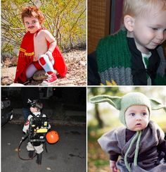 Costumes: Nacho, Draco, Ghostbuster and Yoda — Homecrafted Halloween
