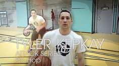 Lets learn the PRO HOP basketball move with pro basketball player, Tyler Kepkay. Welcome Tyler as your personal coach, in this top notch basketball video series all about different skills youll need on the court. Practice your dribbles and defense moves and watch your basketball skills go through the roof!