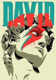 'david bowie' Poster by David Bowie Poster, David Bowie Art, David Bowie Starman Lyrics, Art Actuel, Poster Print, Gig Poster, Art Print, Jean Michel Basquiat, Davy Jones