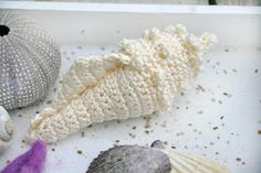 Mijn eigen plekkie: Crochet seashell - link to free pattern