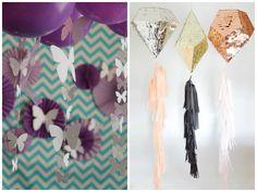 Cordinhas decoradas para enfeitar balões de festa