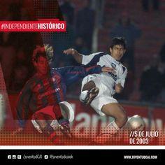 #IndependienteHistorico Frente a San Lorenzo, en Avellaneda, debuta con la casaca roja Sergio Leonel Aguero.
