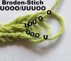 Nadelbinden : Brodén-Stich
