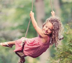 doesnt this remind you of jazz when she went out in the middle of winter with that dress that looks almost identical to this on that damn swing and you had to chase her to get her back inside? Swing Photography, Children Photography, Beautiful Little Girls, Beautiful Children, Cute Kids, Cute Babies, Family Picture Poses, Great Pictures, Little People