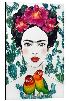 Frida Paintings, Frida Kahlo Portraits, Frida And Diego, Frida Art, Posca Art, Kunst Poster, Graffiti Wall Art, Klimt, Popular Artists
