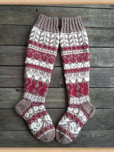 Knit Mittens, Mitten Gloves, Knitting Socks, Baby Knitting, Granny Square Sweater, Diy Crafts Knitting, Work Socks, Baby Socks, Stockinette